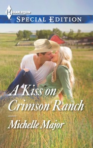 A Kiss on Crimson Ranch cover copy