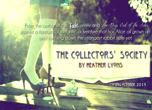 The Collectors' Society teaser 1