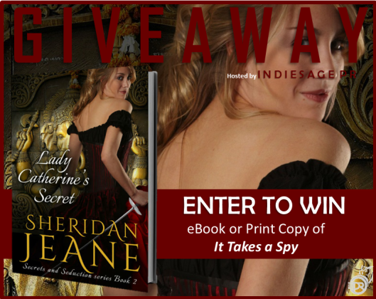 Lady Catherine's Secret CR Giveaway