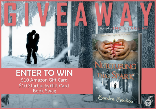 Nurturing That Spark Giveaway Graphic