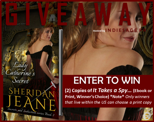 Lady Catherine's Secret Giveaway Graphic