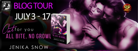 Out For You - All Bite No Growl Banner 851 x 315