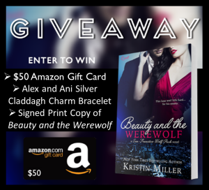 Beauty and the Werewolf Giveaway Graphic