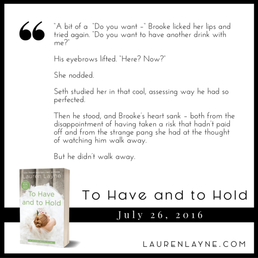 To Have To Hold - Teaser 9