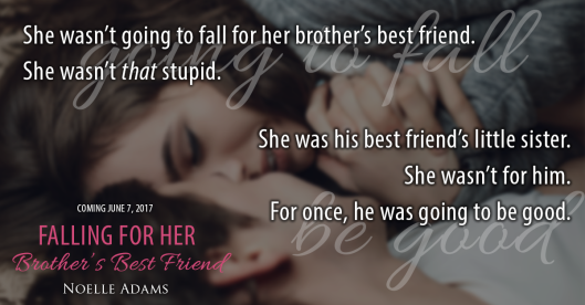 Add Falling For Her Brothers Best Friend To Your Tbr Pile On Goodreads Then Keep Reading To Get An Exclusive Excerpt Of Falling For Her Brothers Best